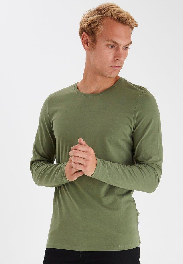 THEO LS  - T-shirt à manches longues - olivine