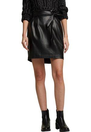 FASHION - Mini skirt - black