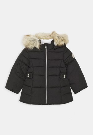 NMFMERETHE JACKET - Winter coat - dark sapphire