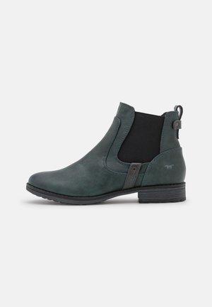 Kotníková obuv - petrol
