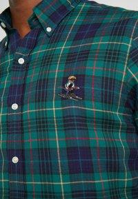 Polo Ralph Lauren - SLIM FIT - Vapaa-ajan kauluspaita - green - 4