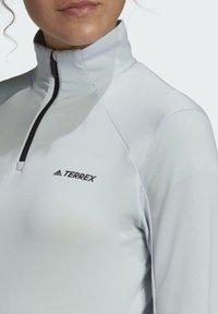 adidas Performance - TERREX EVERYHIKE HALF-ZIP FLEECE JACKET - Fleecejas - blue - 6