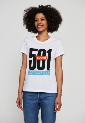 GRAPHIC TEES - T-shirt con stampa - white