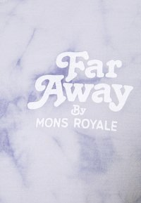 Mons Royale - ICON RELAXED TEE  - Print T-shirt - lilac - 2