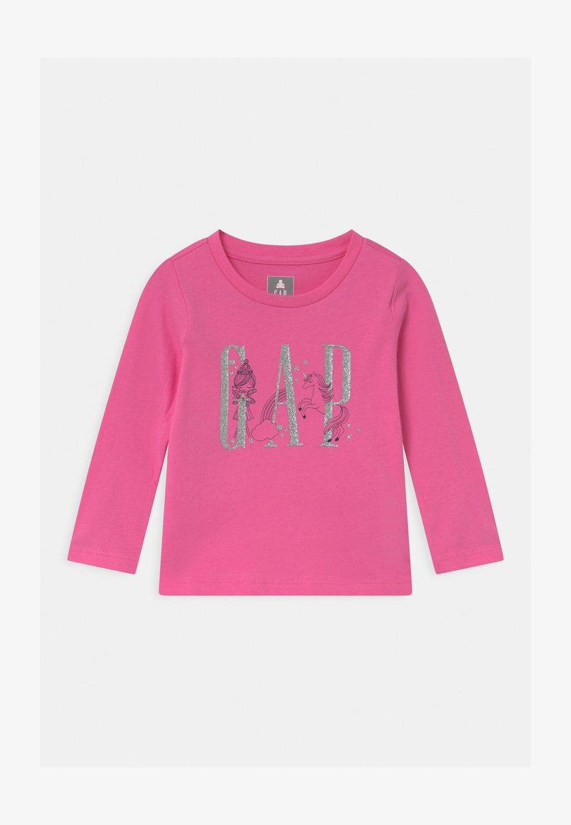 GAP - TODDLER GIRL LOGO  - Long sleeved top - pink