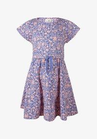 happy girls - BLUMEN - Day dress - royalblau - 0