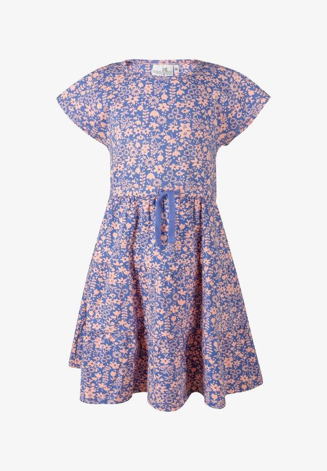 BLUMEN - Korte jurk - royalblau