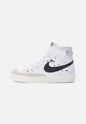 BLAZER MID - High-top trainers - white/black-white-sail