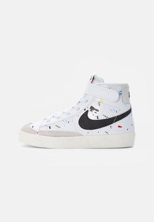 BLAZER MID - Sneakers hoog - white/black-white-sail