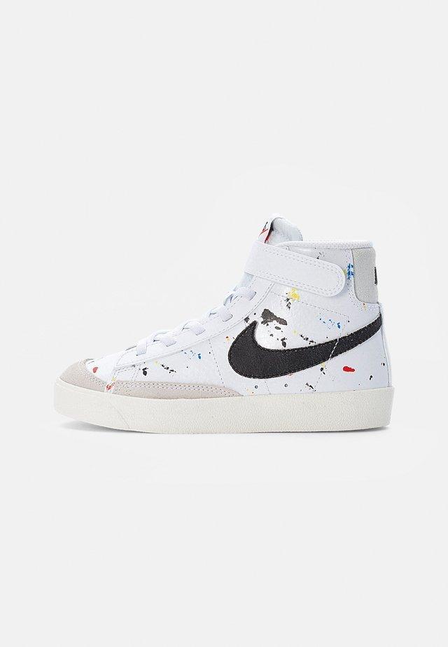 BLAZER MID - Sneakers alte - white/black-white-sail