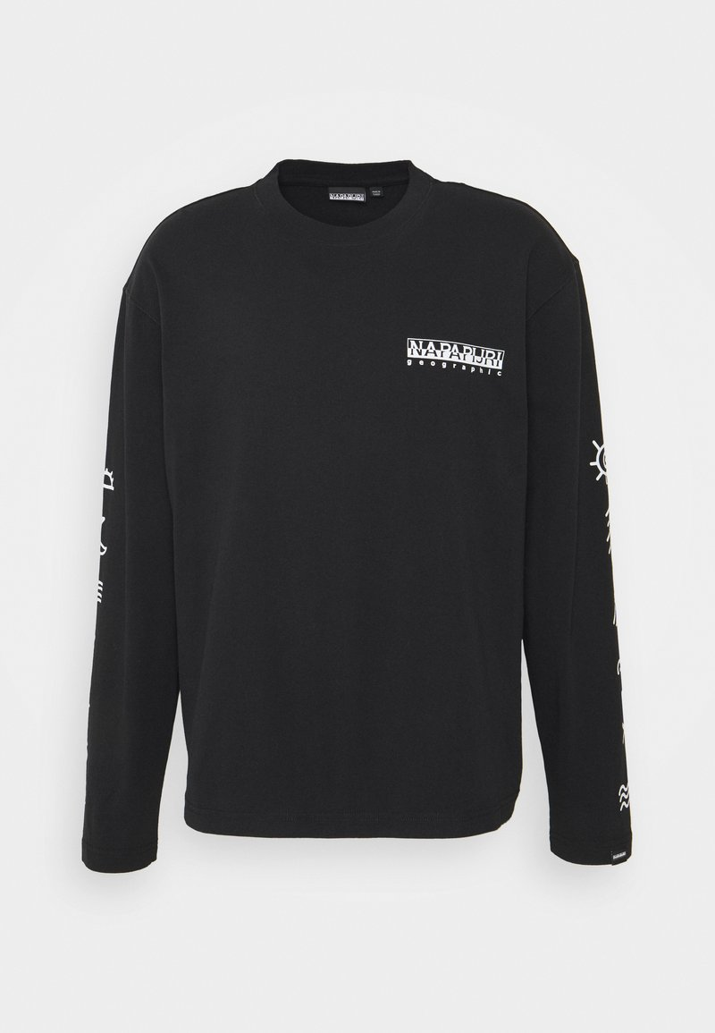 Napapijri The Tribe - PASILAN UNISEX - Long sleeved top - black
