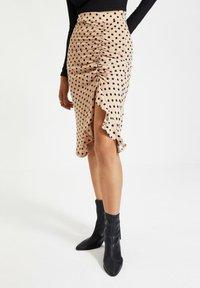 Trendyol - Pencil skirt - beige - 0
