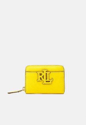 LOGO ZIP WALLET SMALL - Wallet - lemon rind