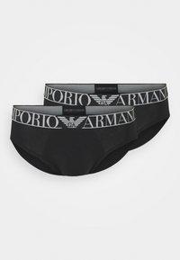Emporio Armani - 2 PACK - Briefs - nero - 2