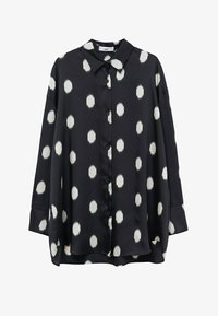 Mango - OVERSIZE  - Button-down blouse - svart - 6