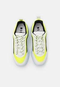 MSGM - Trainers - neon yellow/white - 3