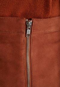 Object - OBJCHLOE  - Pencil skirt - brown patina - 4