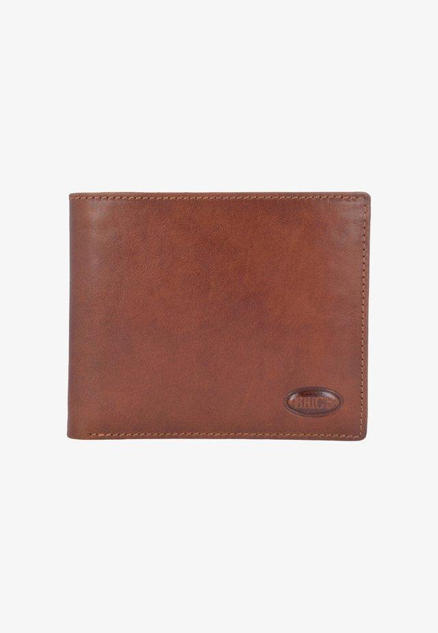 MONTE ROSA RFID LEDER - Portemonnee - brown