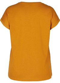 Zizzi - Basic T-shirt - white - 4