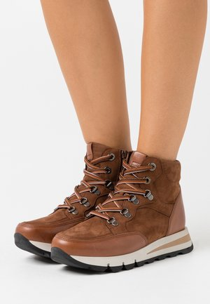 Ankle boot - nut caramello