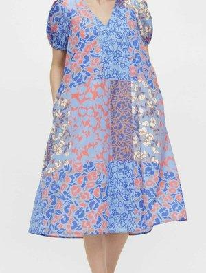 Day dress - blue iris