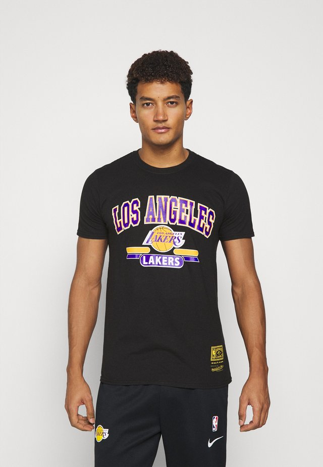 NBA LA LAKERS ARCH LOGO TEE - Klubbkläder - black