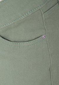 MAIAMAE - WIDE LEG CROP - Straight leg jeans - khaki - 2