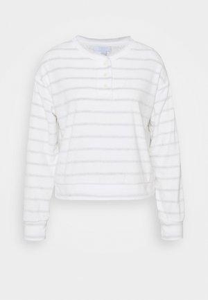 SUM TOWEL TERRY HENLEY - Pyjama top - heather varigated