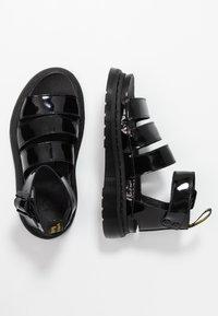 Dr. Martens - CLARISSA II - Sandály na platformě - black - 3