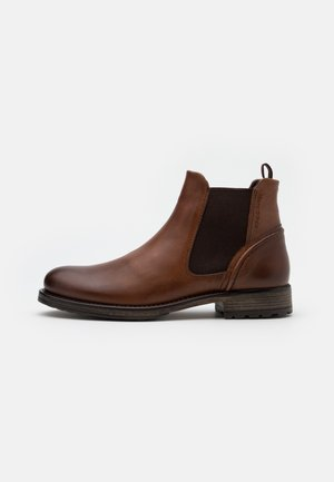 CHELSEA BOOT - Classic ankle boots - cognac