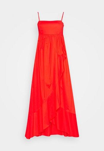 ABITO BUSTINO LUNGO - Maxi dress - corallo