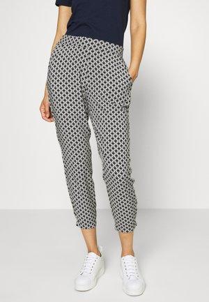 LOOSE FIT PANTS - Trousers - black