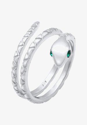 GLASS CRYSTAL - Ringe - silber