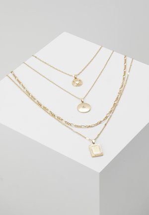 ONLDAPHNE CHAIN NECKLACES 4 PACK - Halskæder - gold-coloured
