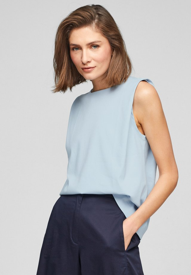 Top - light blue
