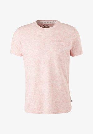 Basic T-shirt - light pink melange
