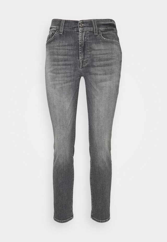 ROXANNE ANKLE SOHO - Slim fit jeans - grey