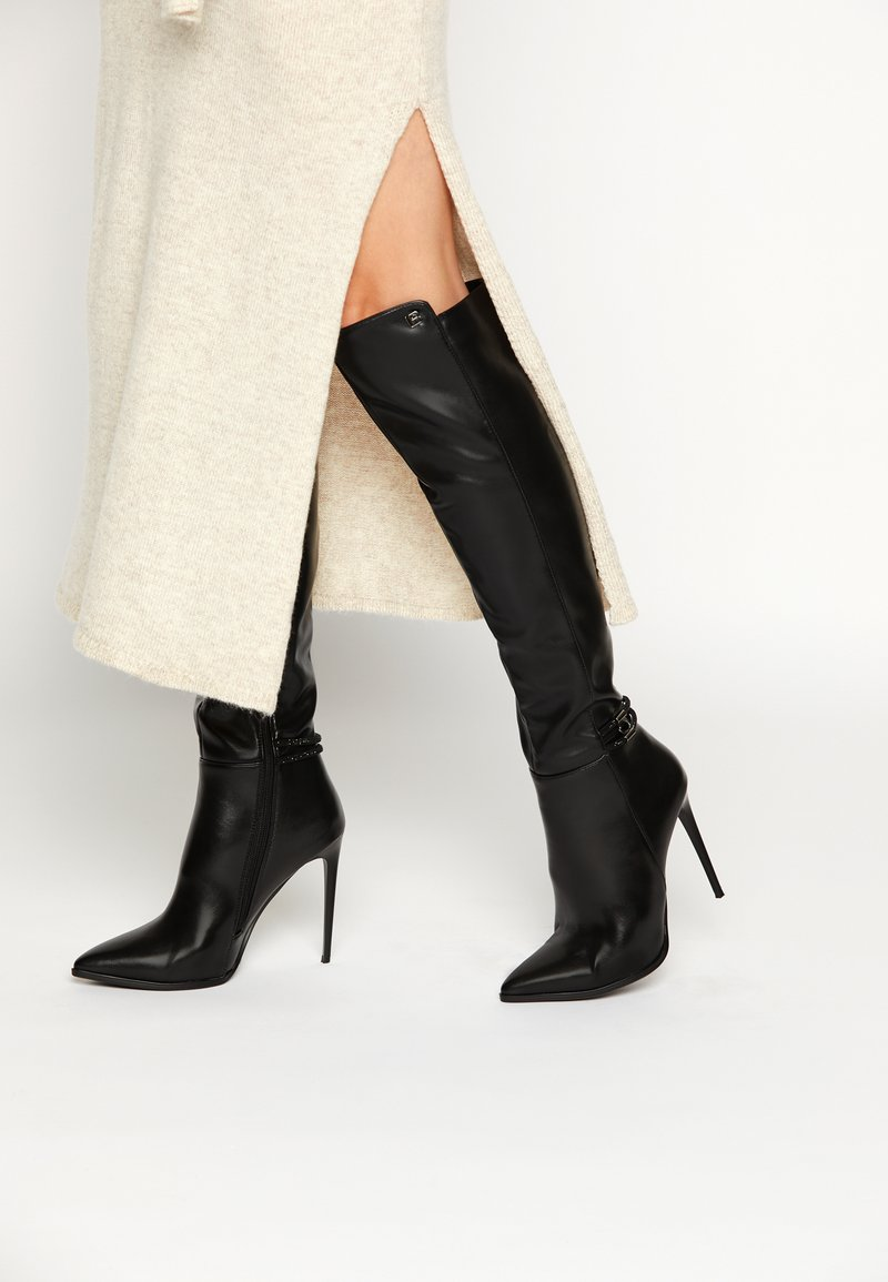 Laura Biagiotti - Over-the-knee boots - black