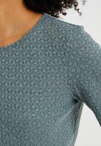 WE Fashion - Basic T-shirt - moss green - 4