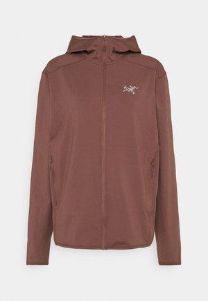 KYANITE LT HOODY MENS - Fleece jacket - inertia