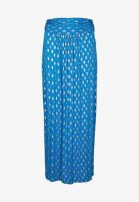 Boden - A-line skirt - marokkoblau paisleymuster - 4