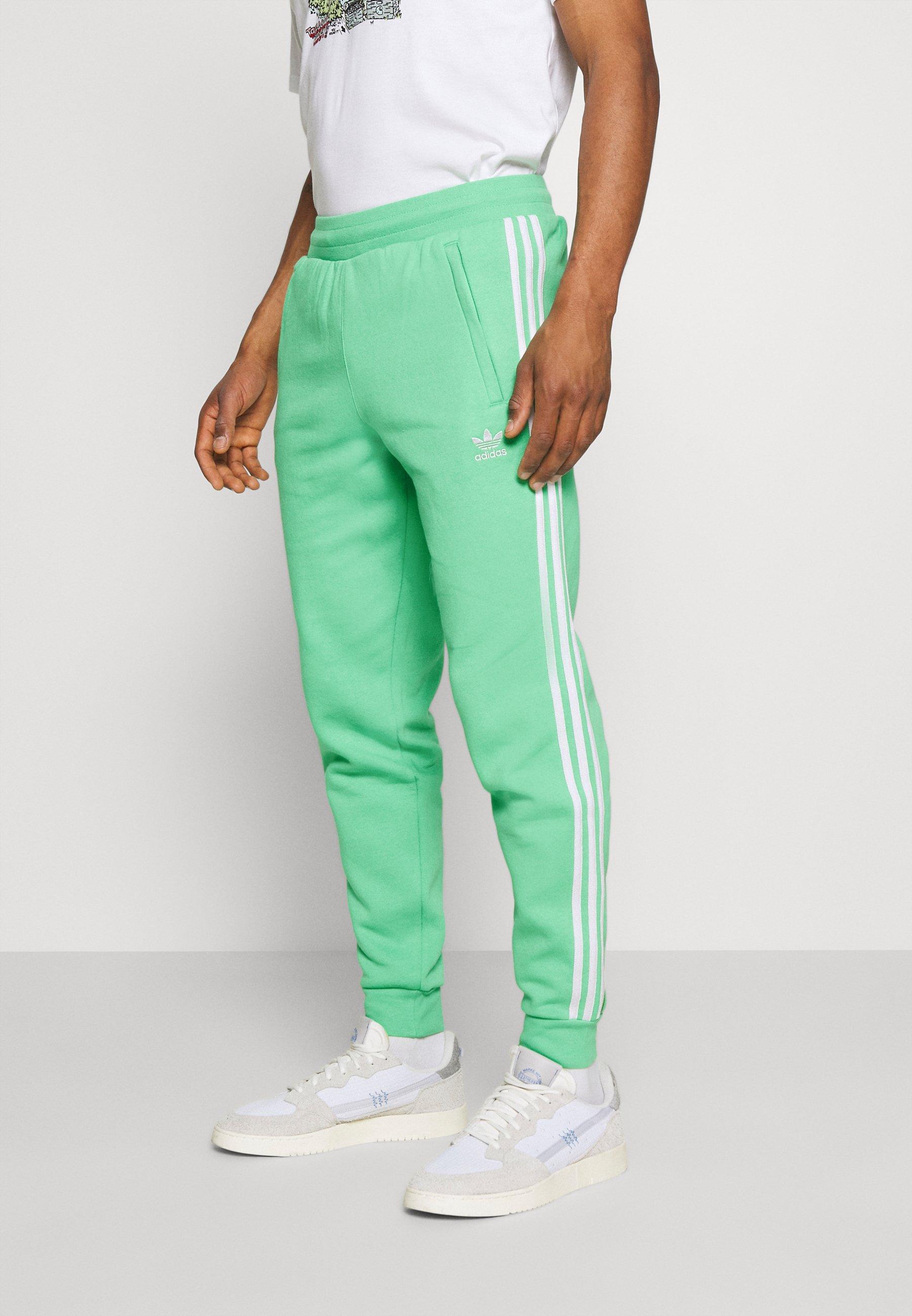 3 STRIPES PANT - Pantalon de survêtement - semi screaming green