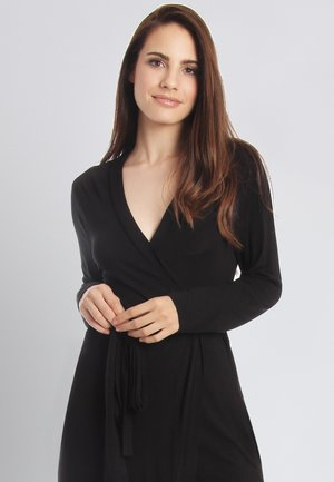 CASUAL COMFORT - Dressing gown - black