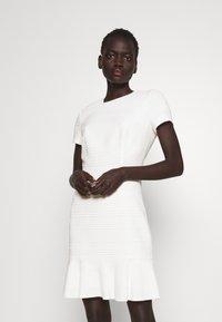 HUGO - KILANAS CLOQUE - Day dress - natural - 0