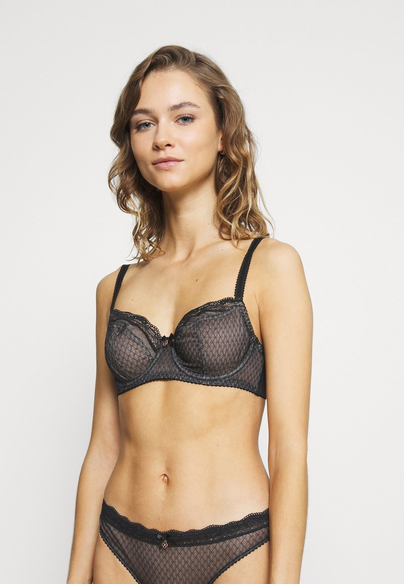 DORINA CURVES - KNIGHT - Underwired bra - black
