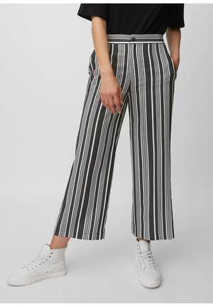 Trousers - multi/black