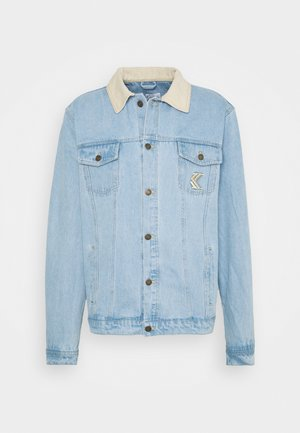 TRUCKER JACKET UNISEX - Džínová bunda - light blue