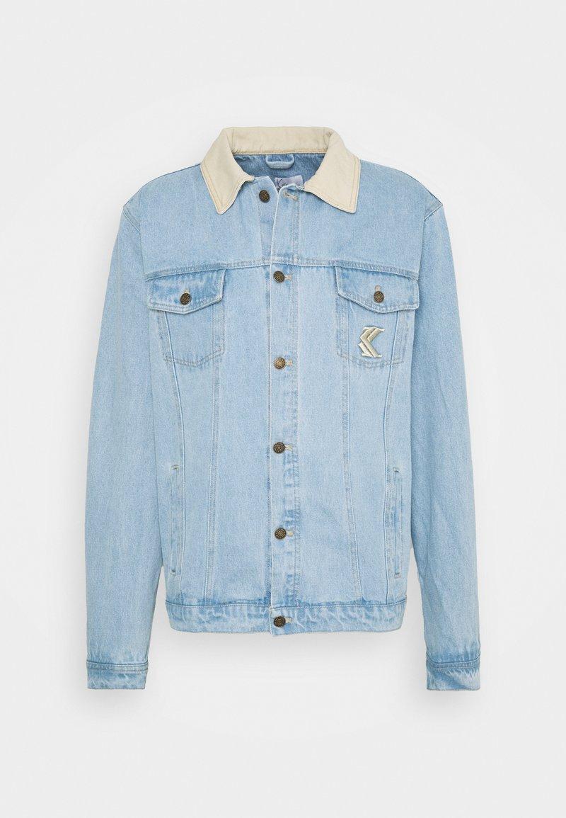 Karl Kani - TRUCKER JACKET UNISEX - Denim jacket - light blue