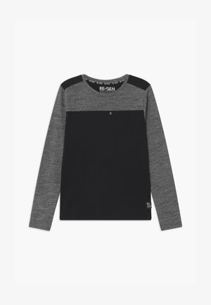 Long sleeved top - grey/black