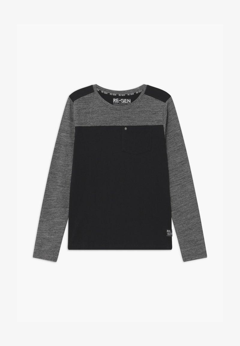 Re-Gen - Top sdlouhým rukávem - grey/black